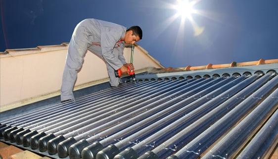 installer chauffe eau solaire